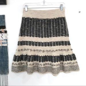 EUC Anthro Sparrow Vermatt Sweater Skirt S